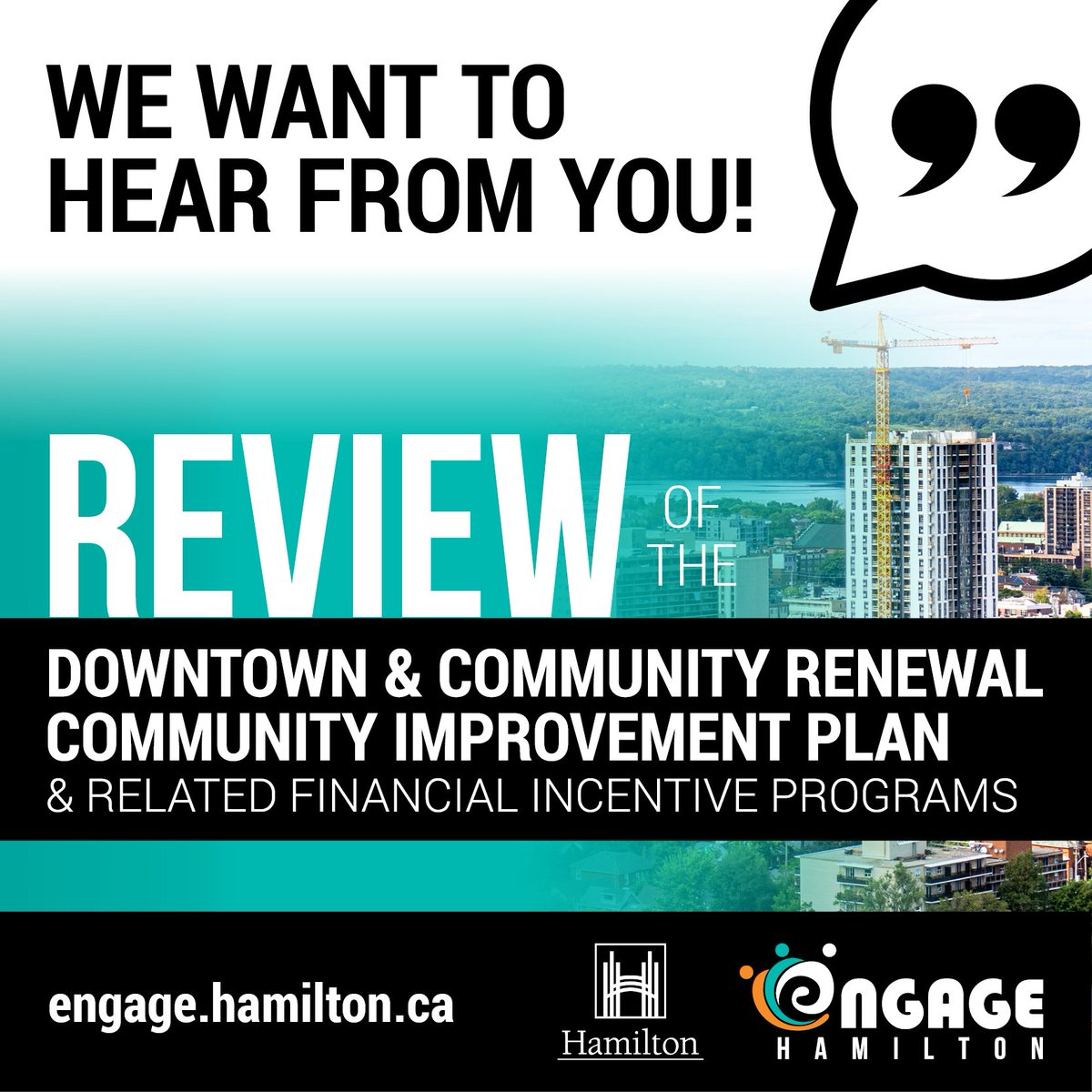 We are looking for your feedback on the how our incentives can further the revitalization of our commercial districts at @cityofhamilton. Survey is open now: https://t.co/k101T7Z6xP.  #Hamont #survey #publicengagement #municipalincentives https://t.co/InQpyF8wR9