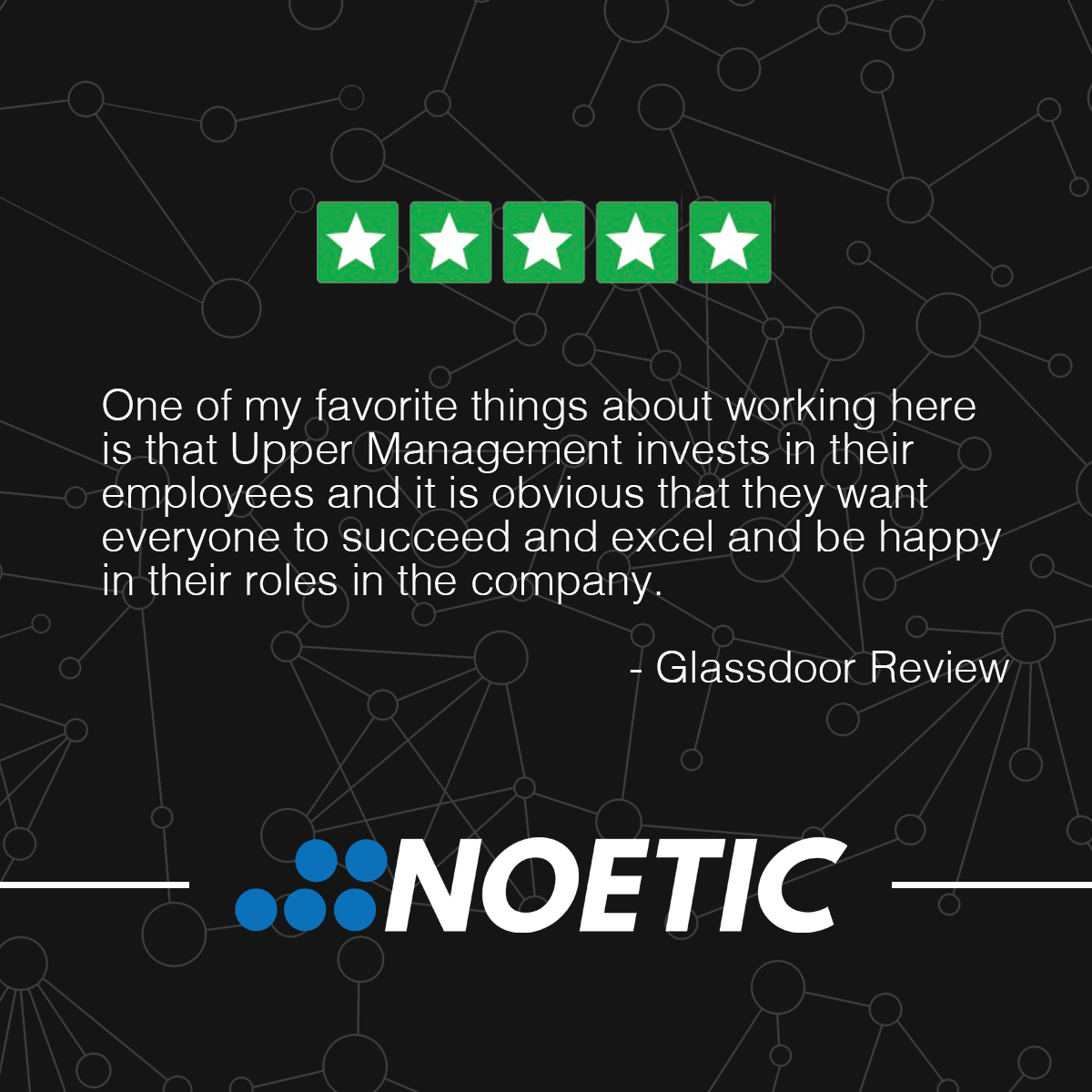 Noetic is proud to provide a work environment and culture that our team members can succeed in and be happy to support. Connect with us and stay updated on opportunities to join our team! #LifeWorkNoetic #Huntsville #Culture #SmallBusiness https://t.co/AgLyqX5dGk