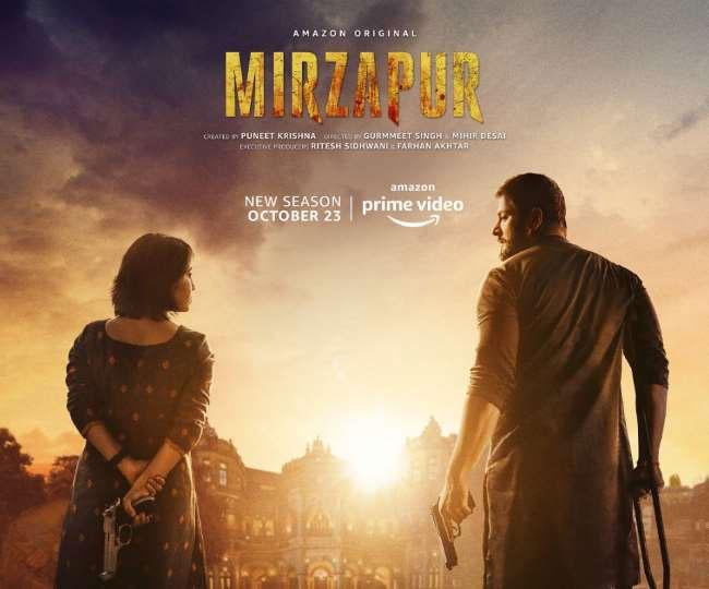 """#Entertainment: The most awaited series of 2020 """"Mirapur 2"""" is OUT on amazon Prime before the date of release. #Mirzapur #MirzapurWatchParty #MirzapurOnPrime #Mirzapurseason2 #Mirzapur2  #MirzapurWatchParty  #PankajTripathi #AmazonPrime @PrimeVideoIN @TripathiiPankaj https://t.co/MumdO2SXUh"""