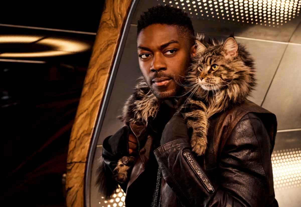 Latest:  David Ajala on 'Star Trek: Discovery's Fierce One-Take Fight and Bringing a Cat to Space https://t.co/Eu5YKfx3i1 #Entertainment #Interviews #TV https://t.co/53hPXT2rxQ