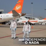 Image for the Tweet beginning: #IndependenciaONada    El Aeropuerto Internacional