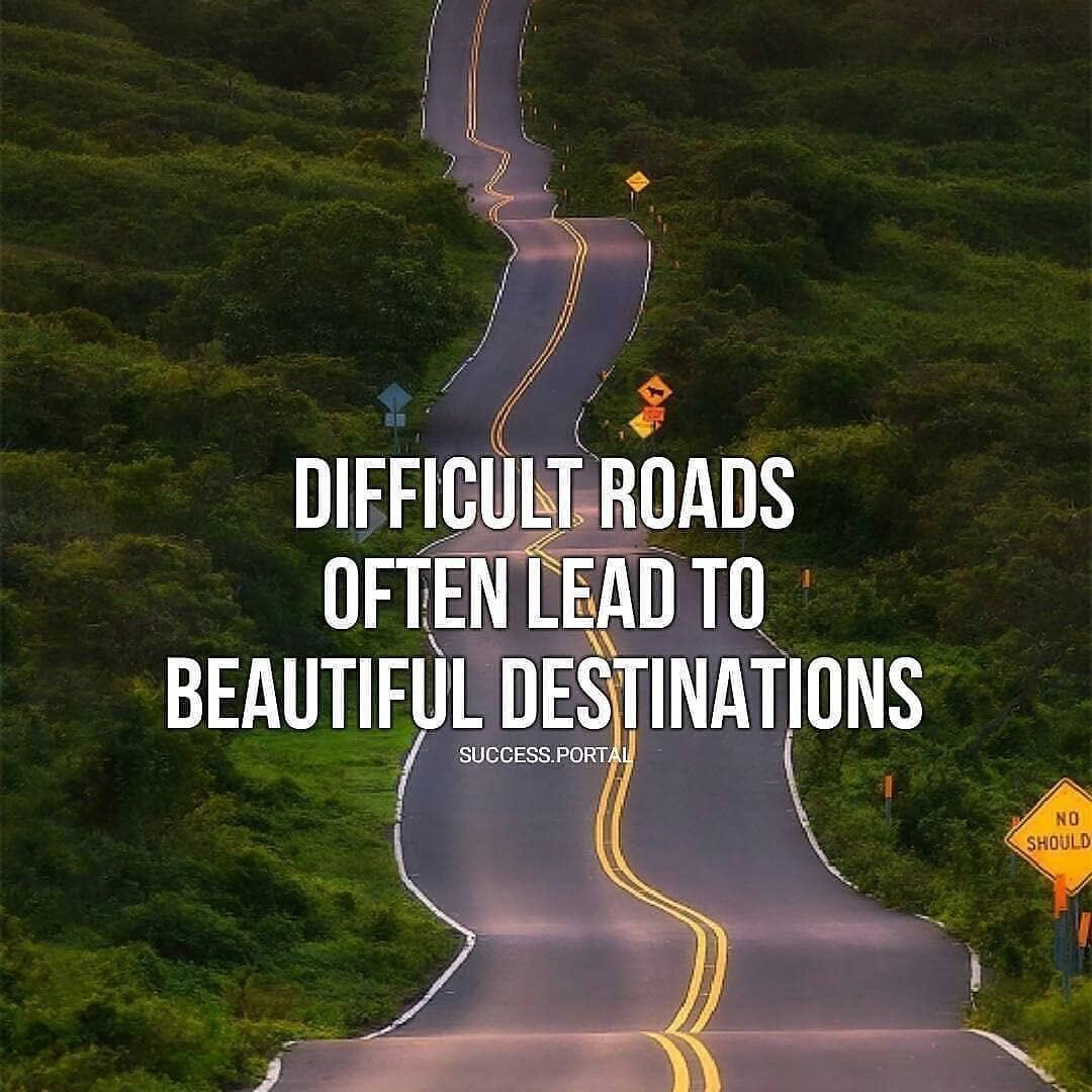 Don't be afraid to take the road ! . . . #difficultroads #beautifuldestinations  #taketheroad #newdestination #youneverknow #goforit #giveitatry #ontheroad #roads #roadrunners #openroadlife https://t.co/pzCnqVHCxC