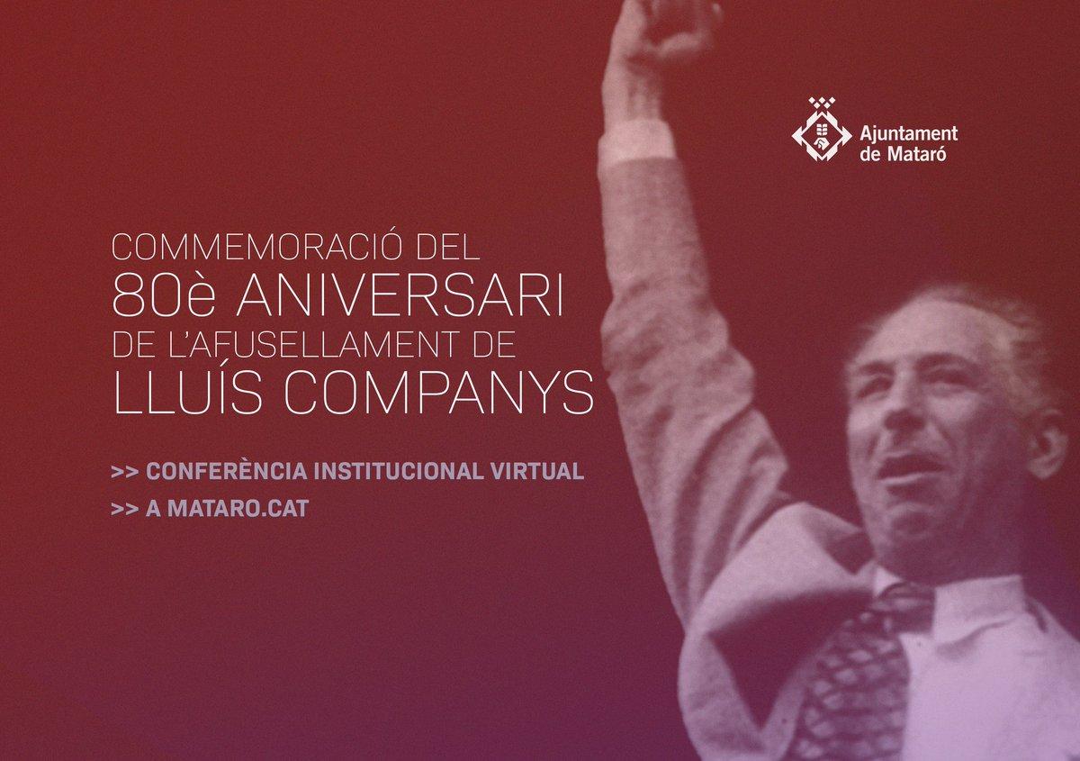 Ara mateix podeu connectar amb la web de l'Ajuntament de Mataró per seguir en directe la conferència del professor Oriol Dueñas. No us la perdeu!