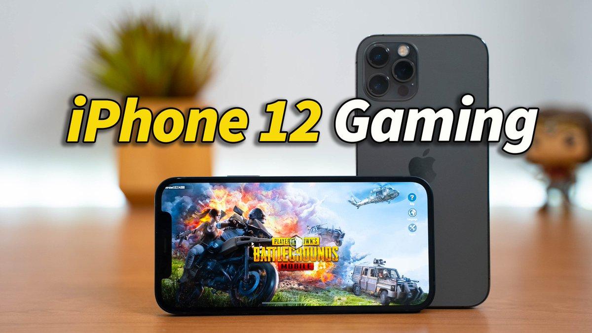ICYMI iPhone 12 & iPhone 12 Pro Gaming   PubG Test! >>>>>https://t.co/WKvFMoRqyo  #iPhone12 #iphone12pro https://t.co/4I9qeefFr2