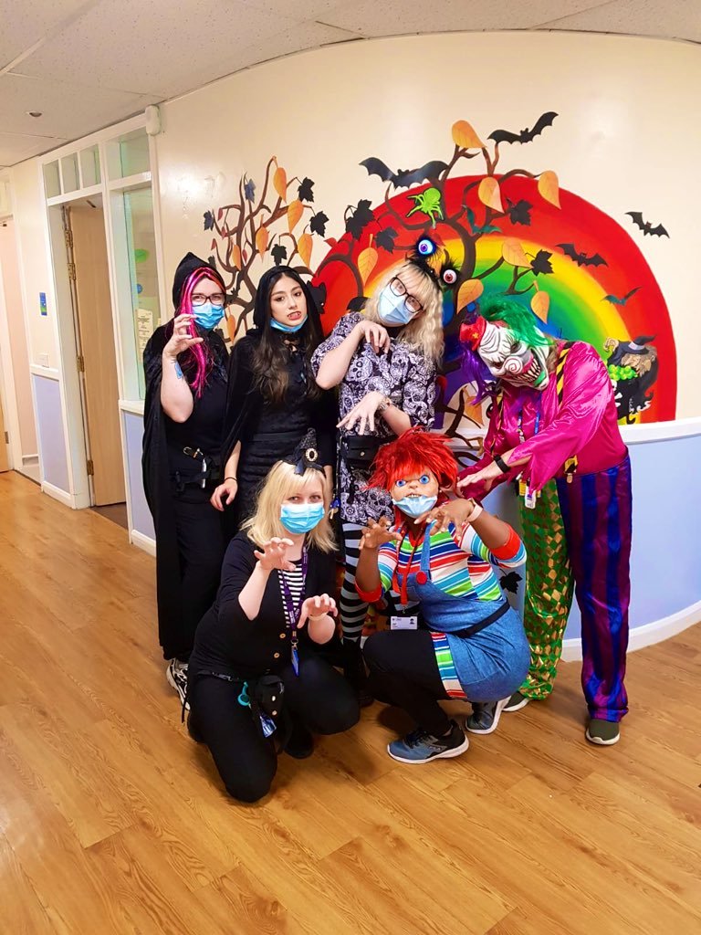 Stansfields Halloween Monster Bash! Plenty of fun with staff and service users dressing up and enjoying a boo-tiful afternoon full of spooky snacks, games, movies and music! We had a spooktacular time! #RHSD #Penninecarepeople @PennineCareNHS #halloween https://t.co/oZRI3hhBrr
