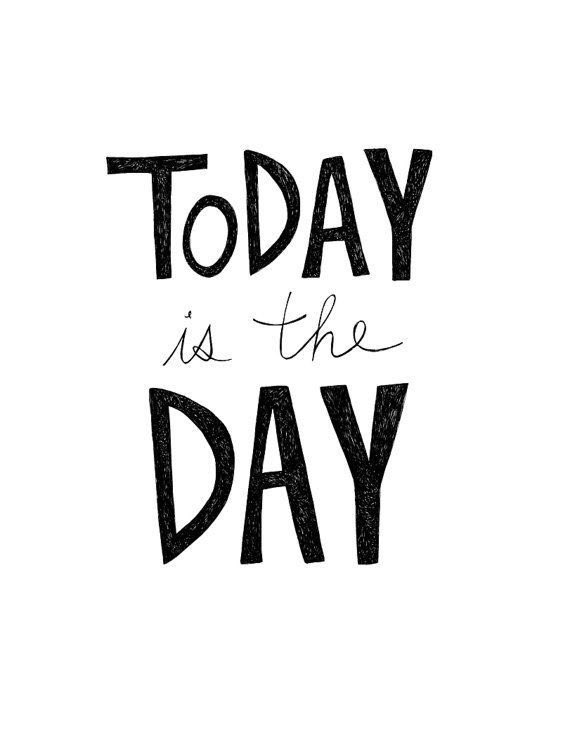 What are you waiting for? Don't put it off any longer, let today be that day!    #StayFocused #DontWait #TodayIsTheDay https://t.co/7jEGFnIaAW