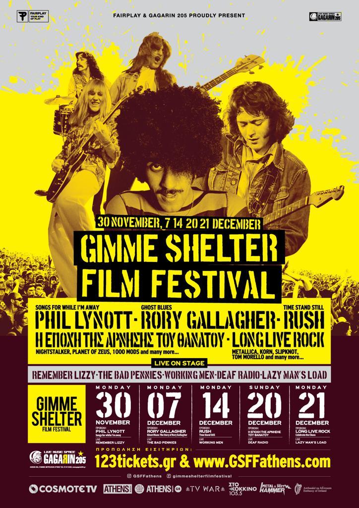 Φέτος ο Phil και ο Rory θα συναντηθούν ξανά, αυτή τη φορά στο Gimme Shelter Film Festival:  Δευτέρα 30 Νοεμβρίου 2020 Phil Lynott: Songs For While I'm Away Πρώτη Πανελλήνια Προβολή  Δευτέρα 07 Δεκεμβρίου 2020 Ghost Blues: The Story of Rory Gallagher Πρώτη Πανελλήνια Προβολή https://t.co/svoDzEO3RP
