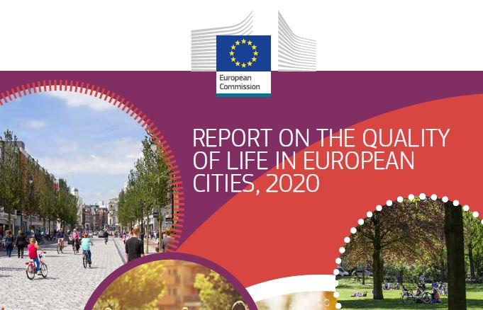 What is the quality of life in European #cities?  Find out in the 2020 Quality of life in European cities survey 👇 https://t.co/qLPs2SODN7  Source: @EU_Commission  #qualityoflife #europeancities #publicengagement https://t.co/Ymw54dofXt