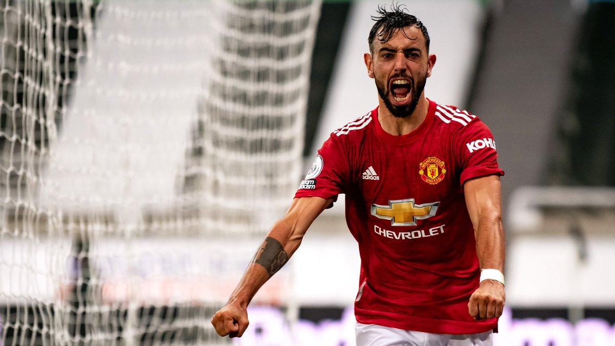Taking this energy into Saturday's #PL return 😤👊 #MUFC @B_Fernandes8