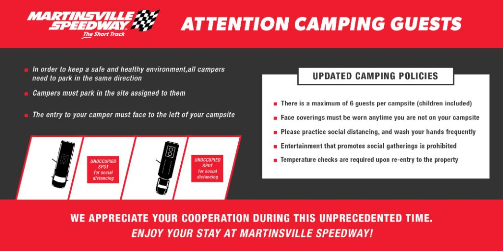 👋 Attention campers! This time next week our lots will open for camping at The Short Track 🙌 Looking for more info on load-in times and protocols? Visit the link below for everything you need to know. ⛺️: nas.cr/3nQTuM7