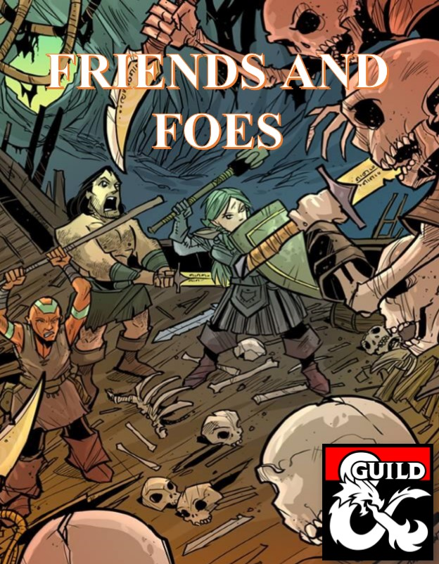 #dnd @dms_guild Save hours of prep time with our trilogy of NPC books! Over 600 detailed NPC stat blocks, levels 1-20! And much more! #friendsandfoes Friends and Foes: https://t.co/ksMtHstzip Friends and Foes I: https://t.co/xhsUubbi36 Friends and Foes II: https://t.co/zC5BnbFZjB https://t.co/nDFu0ZC2eQ
