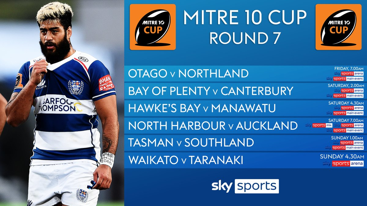 test Twitter Media - The #mitre10cup is back for Round 7⃣  First up, Otago host Northland tomorrow morning from 7am 🇳🇿🏉 https://t.co/RmoPnN8psu