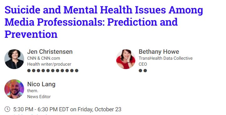 Lots happening with our @CarterFellows program!   Check out these upcoming events in a thread by @KariWrites.  #MentalHealthMatters