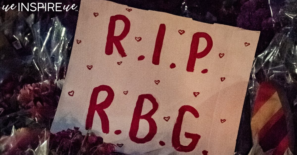 We continue to mourn the loss of a powerful female leader! Rest in Power RGB. We will keep your legacy alive. This is what it means to #riseup #rbg #womensleadership #leadership #empowerment #civilrights #equality https://t.co/QHkmSqXcCs