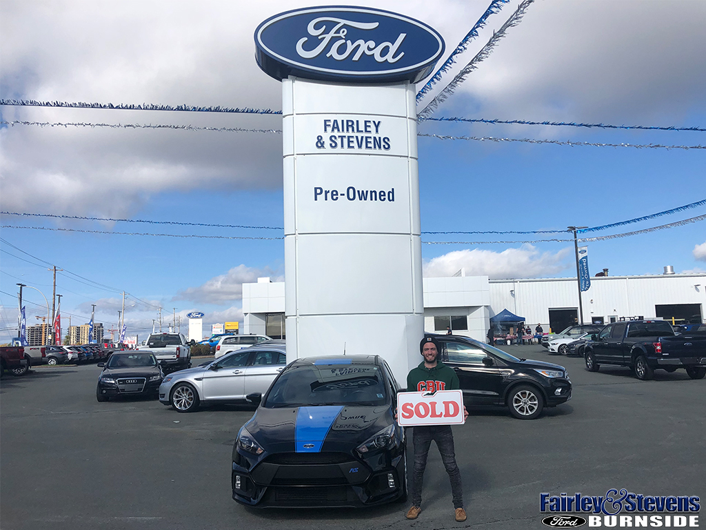 Congratulations to Maxime!  He drove off in his 2017 Focus RS from salesperson Terry Cavadini!  Thanks for choosing Fairley & Stevens Ford Maxime!  #FairleyStevensFord #FordFocusRS #FocusRS #Ford #FordCars #HappyCustomer #Dartmouth #NovaScotia https://t.co/OyIDgJi7QM