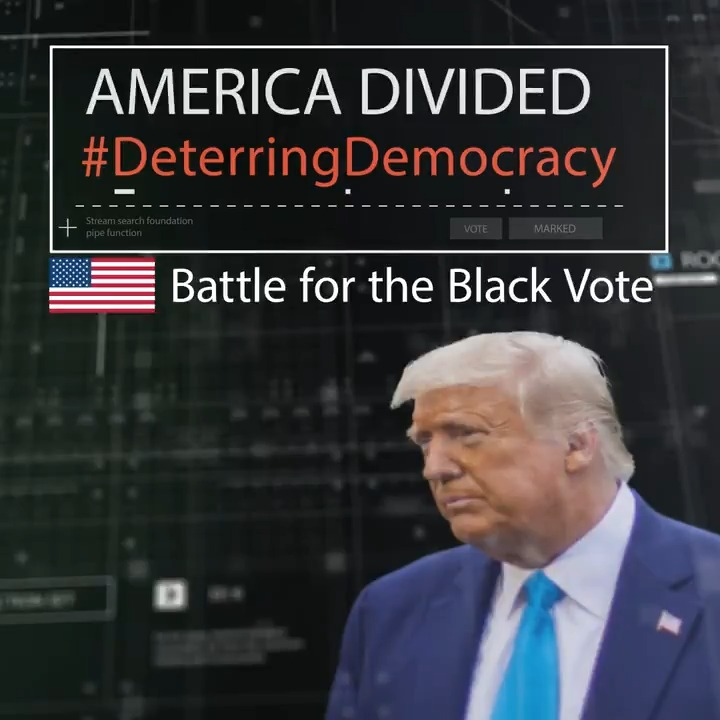 Tonight we reveal how 40% of Black people in Florida were classified as 'Deterrence' by Donald Trump's 2016 campaign – voters they wanted to stay home on election day. It follows our #DeterringDemocracy investigation exposing Republican profiling strategy.