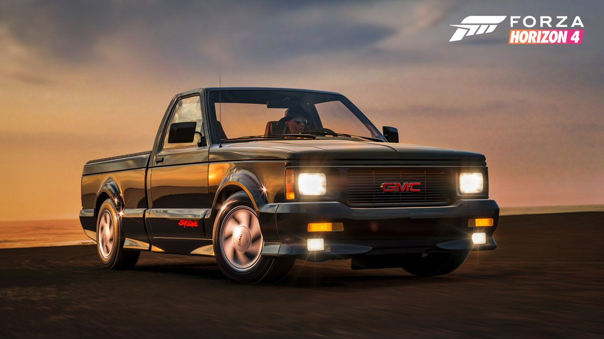 "The GMC Syclone hails from a magical time in automotive history knowns as ""the early 90's."" It's yours now for completing 50% of the Summer Playlist. https://t.co/XfiVO7Ybu1"