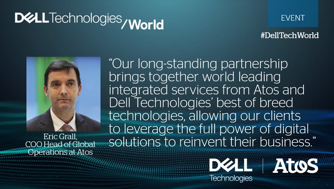 Proud to have received @DellTechPartner presidents' circle award as a Global Alliances...