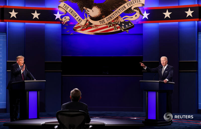 President Donald Trump has a final shot at making his case for re-election before a vast audience when he faces off against Joe Biden in the last televised debate before #Election2020. Here's what you need to know right now 👇Tune into the debate tonight: https://t.co/3fCzGNWwgW https://t.co/WSUYyJ2pkc