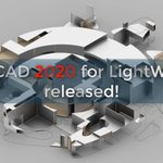 Image for the Tweet beginning: LWCAD 2020 Released! #lightwave3d #lw3d