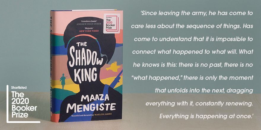 #2020BookerPrize shortlisted author @MaazaMengiste shares her favourite quote from her book, The Shadow King. @canongatebooks #FinestFiction #shortlist #MaazaMengiste #TheShadowKing #quote
