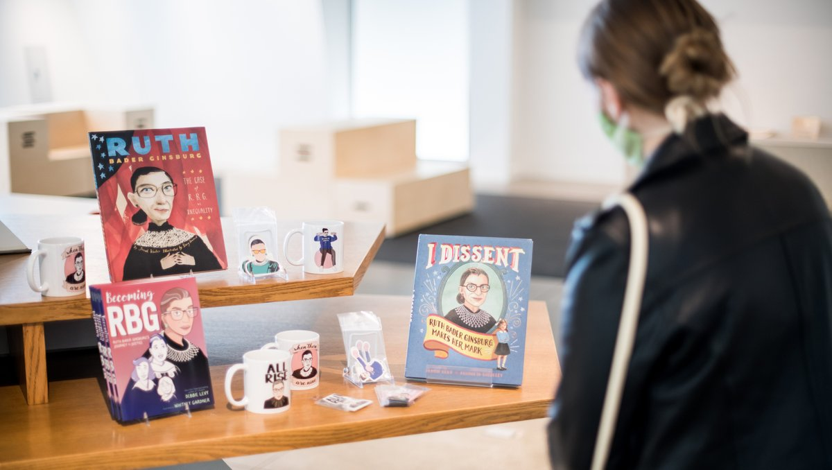 In need of some #LevisCJM swag? Looking to learn more about the late, great #RBG? Or perhaps you're on the hunt for a little Jewish humor to lift the spirits. You're in luck—#TheCJMShop is open and full of opportunities to #treatyourself. ⁠https://t.co/aeFXaojPP3 https://t.co/2hLRjrEyhU