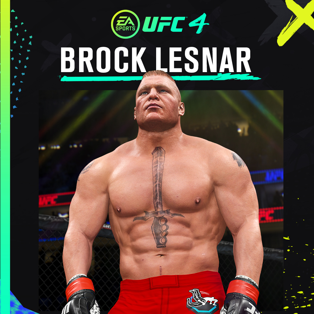 Brocktober is here... 💪🔥  You can now fight as former UFC heavyweight champion Brock Lesnar in #UFC4 🎮 👀  Learn more 👉 https://t.co/8PXhKVYACX https://t.co/tn86HiW33H
