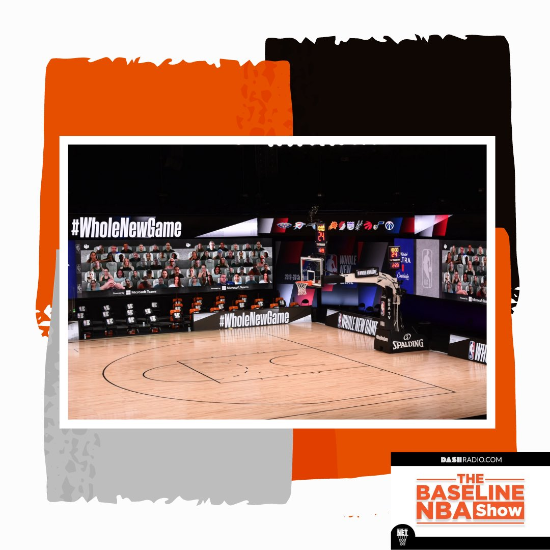 The @NBABaseline is here to review the #NBA's unprecedented 2019-20 season. Catch them at 7pmEST on @dash_radio as they discuss the most surprising & disappointing teams, most impactful players, and more! #WholeNewGame #NothinButNet☄️ https://t.co/RoT4tkbtXr