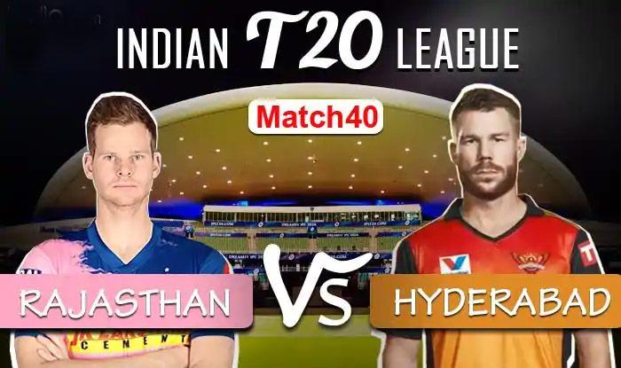 #IPL2020 #CCIPL2020 #RRvsSRH  Pandey, Shankar Star as SRH Crush RR by 8 Wickets  Scorecard: https://t.co/qQM0lMBUUi https://t.co/4kBPZTj8hs