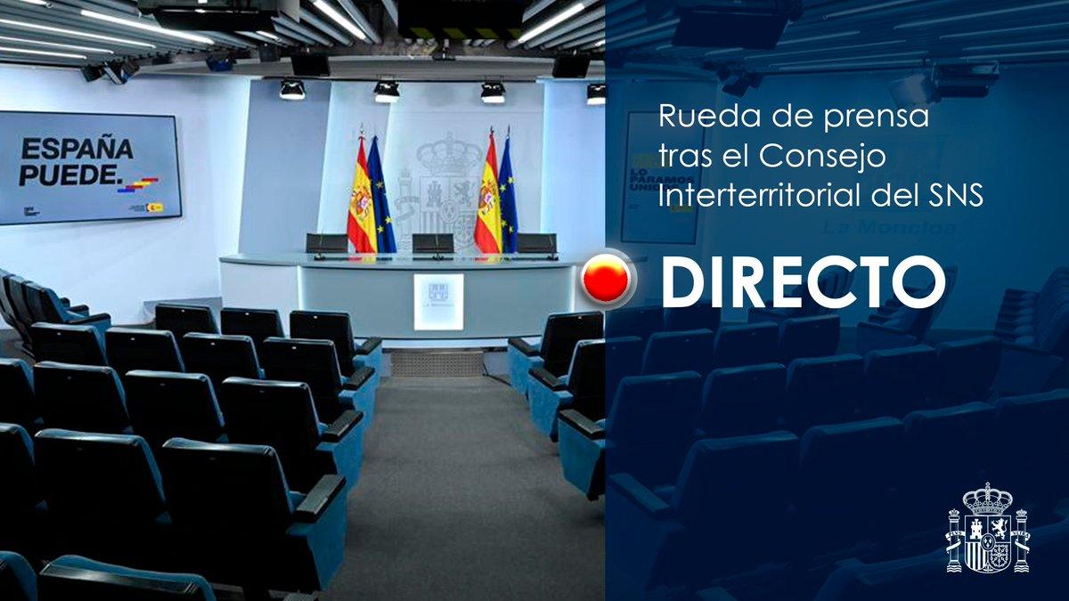 Twitter La Moncloa. El ministro de @sanidadgob, Salvador Il...: abre ventana nueva