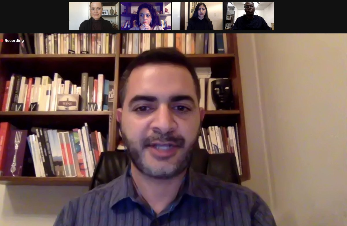 @JSchool_CU @HebaJournalist @TheMFWA @laxmisarathy @AymanMhanna @hgilberds Now @AymanMhanna from  @SK_Eyes speaking about their work within Lebanon as well as the broader Middle East. @CovidJourno #MediaDev #JournalismInCrisis https://t.co/ECkCLyZ8aN