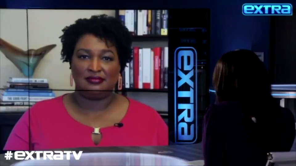 """Tonight on #ExtraTV: @StaceyAbrams is telling @therachlindsay about battling voter suppression with her new documentary, """"All In: The Fight for Democracy."""""""