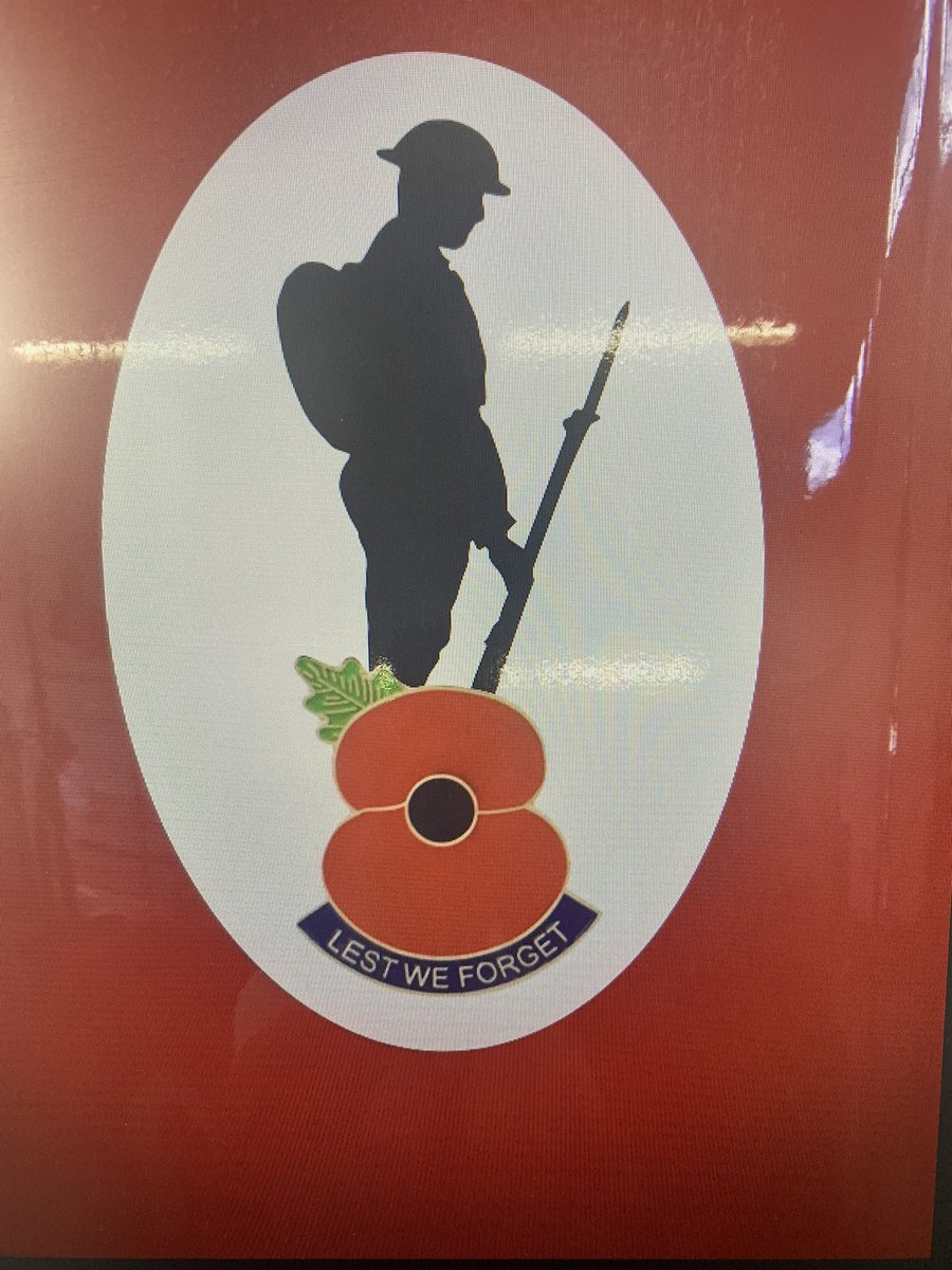 Coming to all @LeicsFireRescue fire engines soon. #LestWeForget #WeWillRememberThem