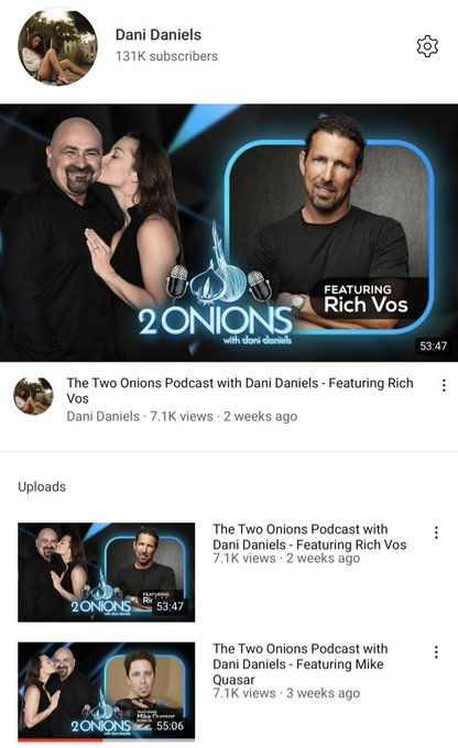 Are you subscribed to my YouTube channel!? Don't miss out on my podcast, it's free to listen! https://t