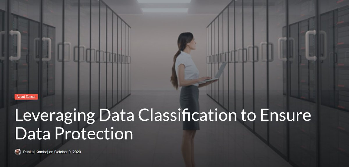 Read this blog by Pankaj Kamboj, DFS Senior Solution Architect, to learn more about the importance of data classification to build a robust security model for your business needs. https://t.co/4lICOiHmwQ    #DFSisHOW #DigitalSecurity #cybersecurity https://t.co/8LXOdhrD67