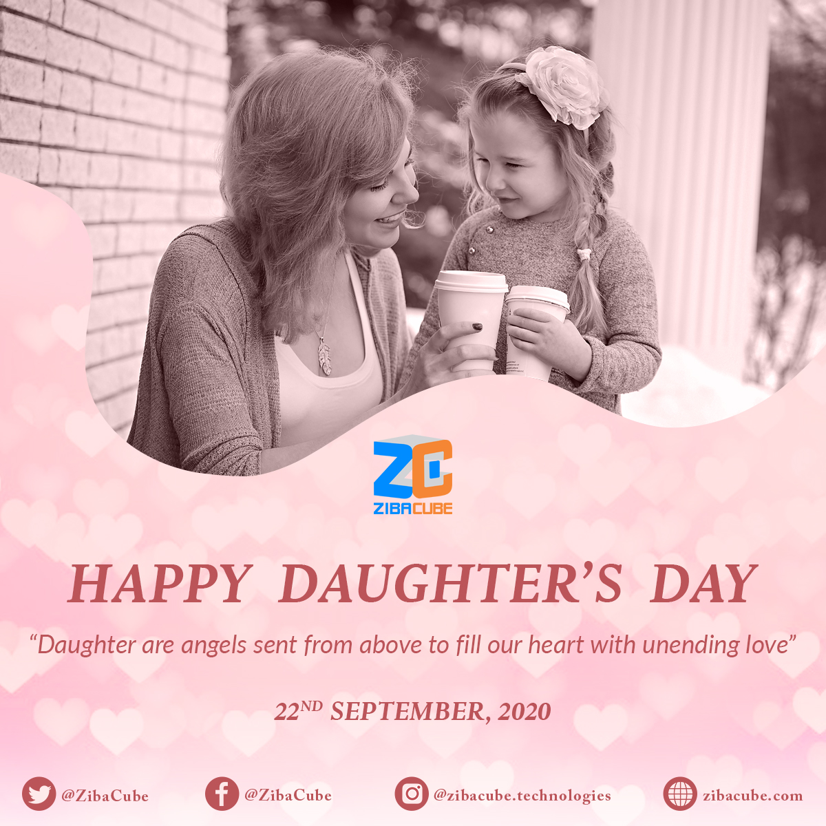 👨👧👧#Daughters are the blooming flowers of their parents. These delicate little, mischievous troublemakers are the center of their parent's world💕  #DaughtersDay #HappyDaughtersDay #DaughterOfTheKing #FatherDaughterBond #MomDaughterTime #LoveGirls #LoveUrDaughters #WeAreZibacubers