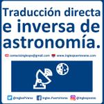 Image for the Tweet beginning: Astronomía ▼ Contacto vía 📩