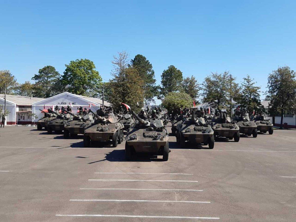 7º Regimento de Cavalaria Mecanizado recebe 18 viaturas blindadas Cascavel após trabalho de manutenção de 1º e 2º escalões https://t.co/pVTbCwFPzq #BraçoForte #MãoAmiga https://t.co/zo1M3IZ5W5