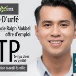 Image for the Tweet beginning: #emploi #Montréal #ATP #assistant #technique