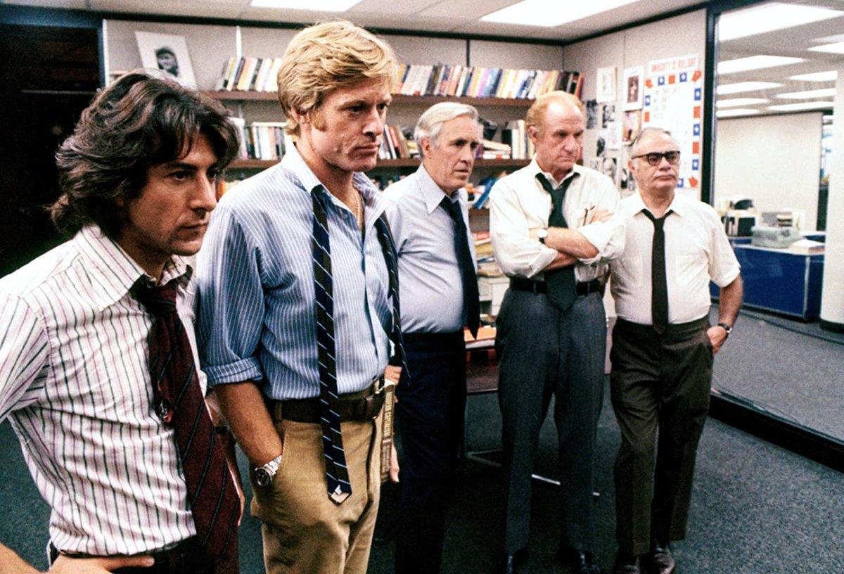 """""""Follow the money.""""  All the President's Men (1976) https://t.co/eoRxlZfvvZ"""