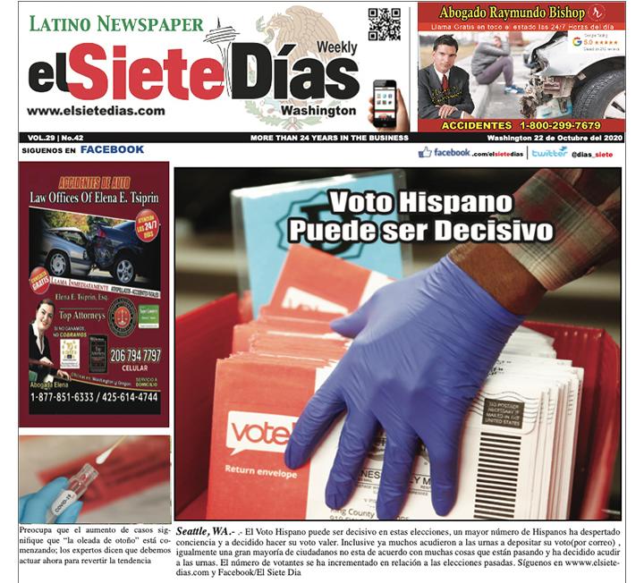 El nuevo número de nuestro periódico está disponible online en https://t.co/UaN1ZIhgnt #Latino #Hispano #Bellevue https://t.co/WIcZzezoCT
