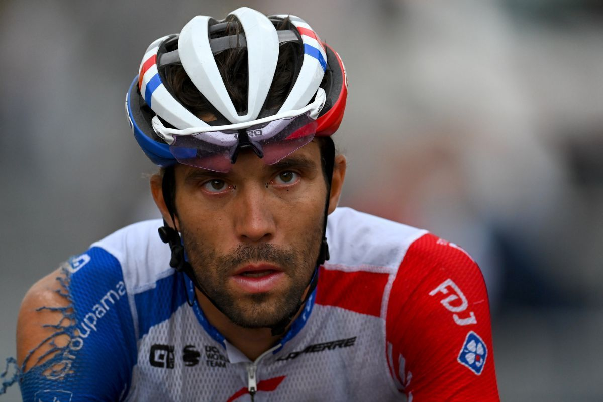Thibaut Pinot abandons the Vuelta a España as back pain persists. Frenchman ends his 2020 season after two stages in Spain  https://t.co/1YutDEv1wE https://t.co/SEQUtCxATw