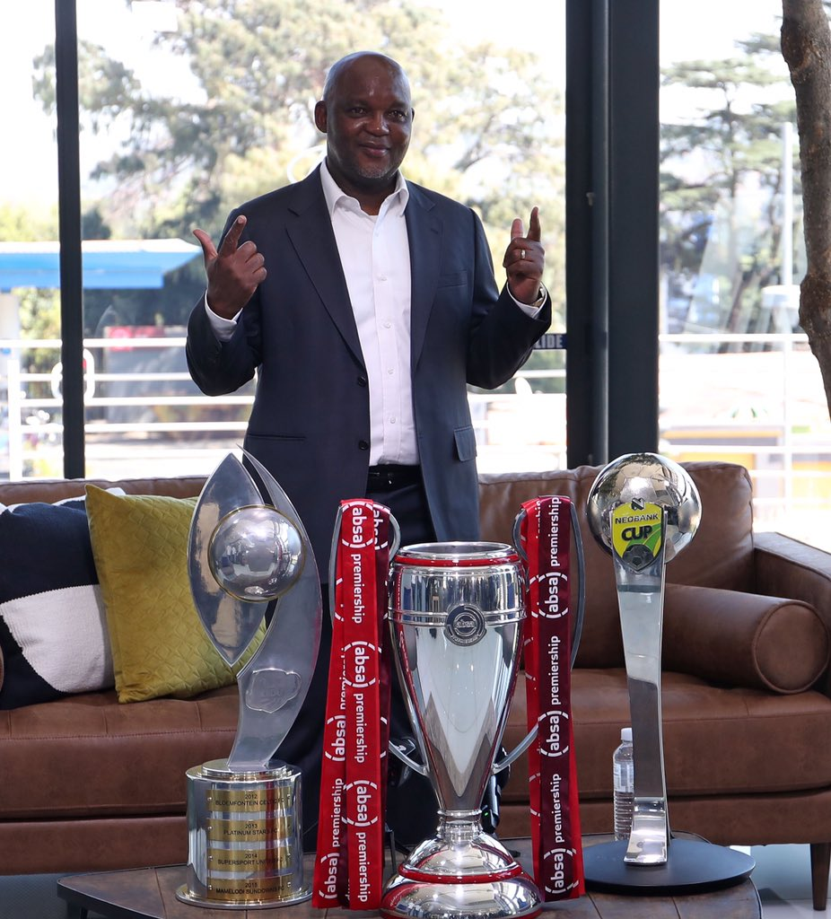 Pitso Mosimane is Absa Premiership Coach of the Season  #PSLAwards20 https://t.co/t5ocN3np8m