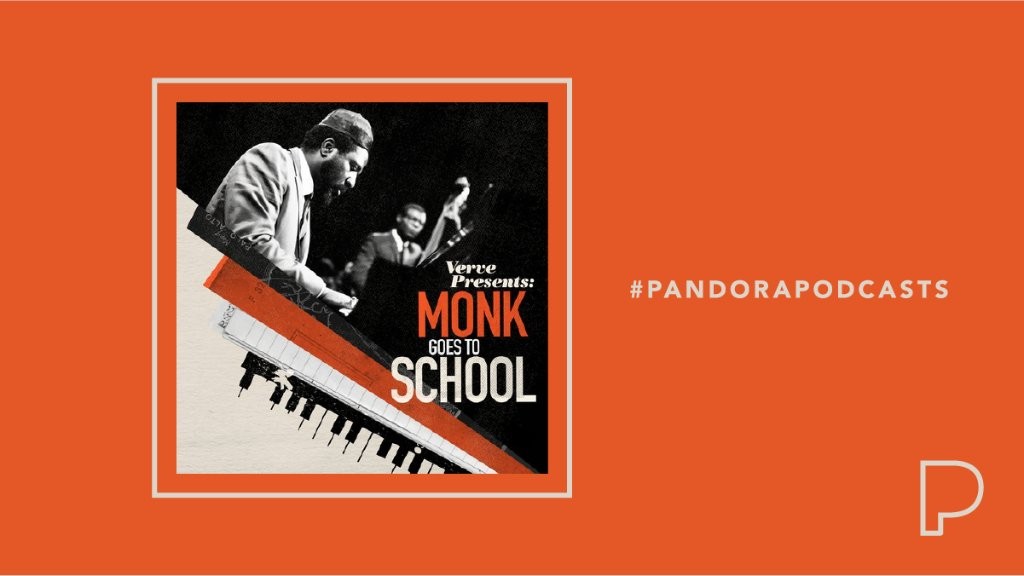".@VerveRecords and @PopcultW present ""Monk Goes To School,"" a podcast that tells the story of a high school student who convinced Thelonious Monk to play his high school in 1968, and the recording that remained unheard for 50 years until now. Hear it now: https://t.co/bkZZVYtzeL https://t.co/54W35HhNVI"