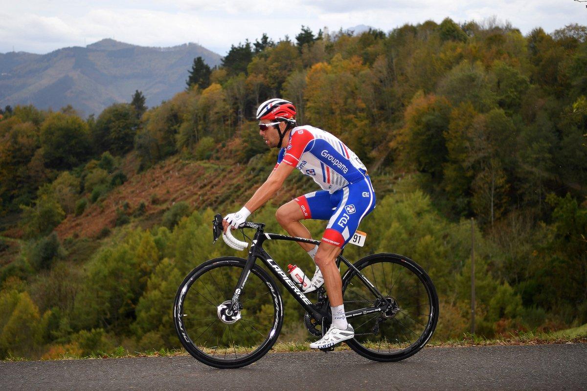 Thibaut Pinot abandons Vuelta a España 2020 #LaVuelta20 |  https://t.co/M3CUOyGr8x https://t.co/2gdbmZXoip