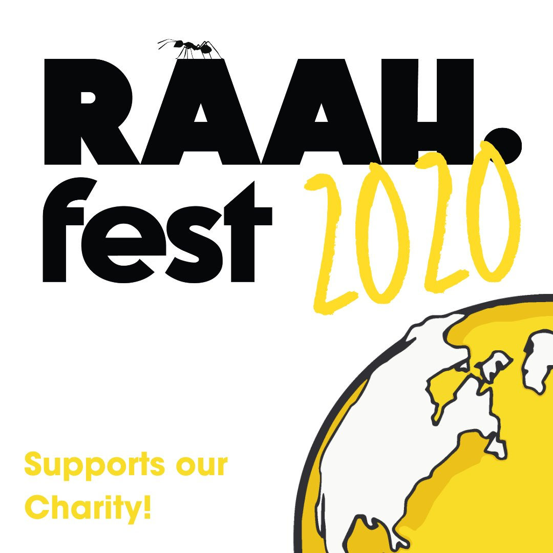 🚨 SATURDAY 24th OCTOBER 🚨   Join @RAAH_Fest2020 - an incredible online festival to raise awareness + support 20 social orgs (inc us!) working to combat migration displacement, racial discrimination & trafficking.  Find out more, tune in & support here 👉🏾 https://t.co/ehMXe7LFGH https://t.co/dbS3xWFF2J