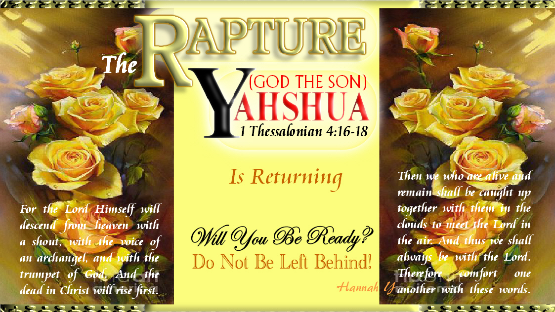 @GoodShepherd316 See u @ Marriage Supper of d LAMB!  Even so, come, LORD YAHSHUA! MESSIAH YAHSHUA's RAPTURE at any moment!  B NOT Left Behind! No 2nd chance once u leave d world  2DAY truly repent all yr sins, accept YAHOVAH's Free Gift of ETERNAL LIFE thru YAHSHUA!  TRUTH https://t.co/POEaG9ZFqF https://t.co/zjnbLaaKVW