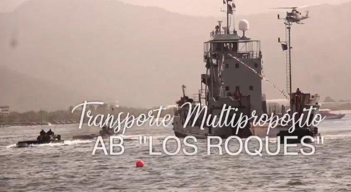 #22Oct el @ARB_CANEATA se complace en felicitar a la tripulación, del Transporte Multipropósito AB- LOS ROQUES (T-93), quien arriba a su 7mo Aniversario. BZ sigan surcando exitosamente nuestros mares venezolanos...! Viva la Venezuela azul! https://t.co/u7RL9XYGE9