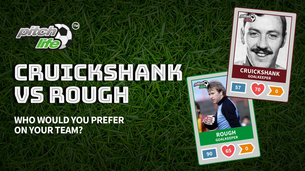 Cruickshank vs Rough. Who would you prefer on your Pitchlife team? ⚽Vote in our poll 🔽🔽🔽 #hibs #jambos https://t.co/4Jr8Nx99e0