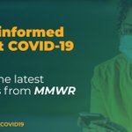 Image for the Tweet beginning: A new @CDCMMWR finds that
